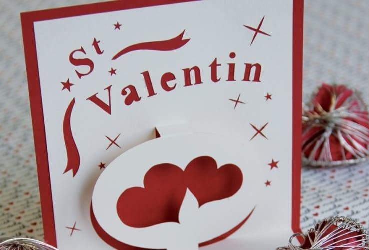 Kirigami St-Valentin